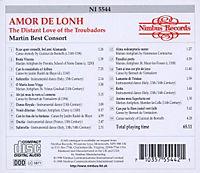 The Distant Love Of The Troubadors - Produktdetailbild 1