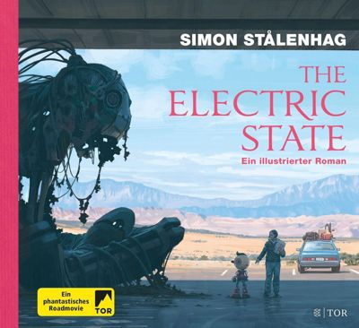 The Electric State - Simon Stalenhag |