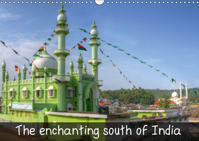 The enchanting south of India (Wall Calendar 2019 DIN A3 Landscape), Thomas Münter