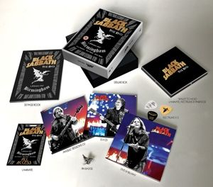 The End (Limited Super Deluxe Edition, 3CD + DVD + Blu-ray), Black Sabbath