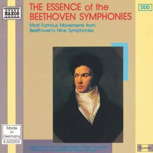 The Essence Of The Beethoven Symphonies, Edlinger, Halasz