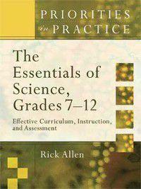 The Essentials of Science, Grades 7-12, Rick Allen