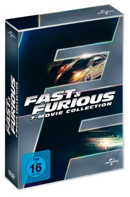 The Fast and Furious - 7-Movie Collection, Ken Li, Gary Scott Thompson, Erik Bergquist, David Ayer, Michael Brandt, Derek Haas, Chris Morgan