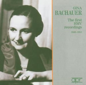 The First HMV Recordings 1949 - 1951, Gina Bachauer