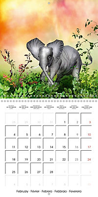 The friendly giants, on soft soles (Wall Calendar 2019 300 × 300 mm Square) - Produktdetailbild 2
