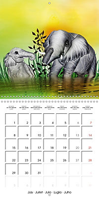 The friendly giants, on soft soles (Wall Calendar 2019 300 × 300 mm Square) - Produktdetailbild 7