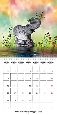 The friendly giants, on soft soles (Wall Calendar 2019 300 × 300 mm Square) - Produktdetailbild 5