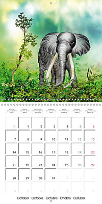 The friendly giants, on soft soles (Wall Calendar 2019 300 × 300 mm Square) - Produktdetailbild 10
