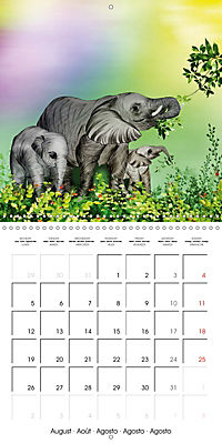 The friendly giants, on soft soles (Wall Calendar 2019 300 × 300 mm Square) - Produktdetailbild 8