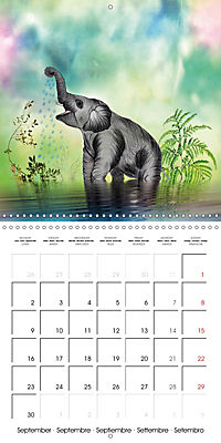 The friendly giants, on soft soles (Wall Calendar 2019 300 × 300 mm Square) - Produktdetailbild 9