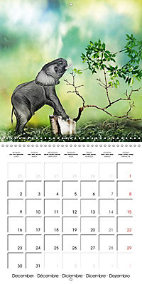 The friendly giants, on soft soles (Wall Calendar 2019 300 × 300 mm Square) - Produktdetailbild 12
