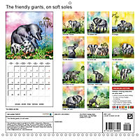 The friendly giants, on soft soles (Wall Calendar 2019 300 × 300 mm Square) - Produktdetailbild 13