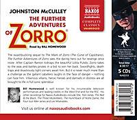 The Further Adventures of Zorro, 5 Audio-CDs - Produktdetailbild 1
