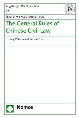 The General Rules of Chinese Civil Law
