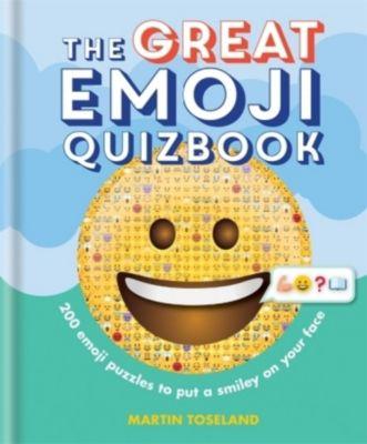 The Great Emoji Quizbook, Martin Toseland