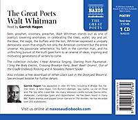 The Great Poets: Walt Whitman, 1 Audio-CD - Produktdetailbild 1