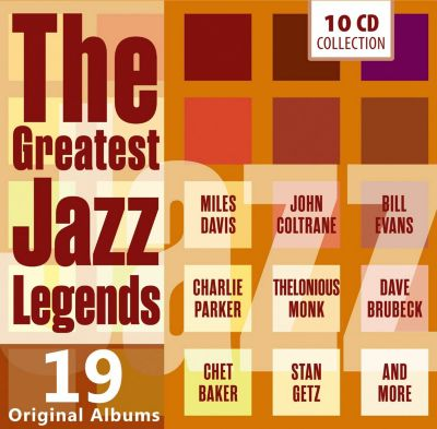 The Greatest Jazz Legends - 19 Original Albums, 10 CDs, Various