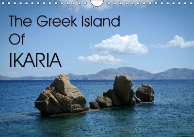 The Greek Island Of Ikaria (Wall Calendar 2019 DIN A4 Landscape), PixAl