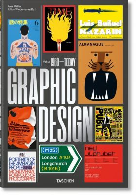 The History of Graphic Design. Vol. 2, 1960-Today, Jens Müller