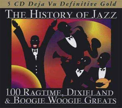 The History of Jazz, 5 CDs, Diverse Interpreten