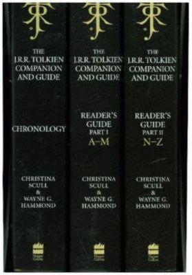 The J. R. R. Tolkien Companion and Guide, 3 Vols., Wayne G. Hammond, Christina Scull, J.R.R. Tolkien