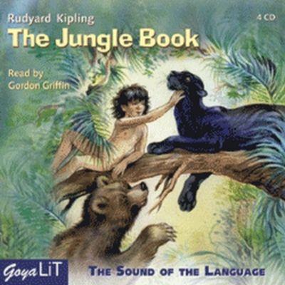 The Jungle Book, 4 Audio-CDs, Rudyard Kipling