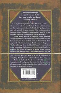 The Last Lecture, English edition - Produktdetailbild 1