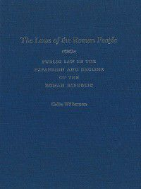 The Laws of the Roman People, Callie Williamson