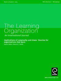 The Learning Organization: The Learning Organization, Volume 10, Issue 6
