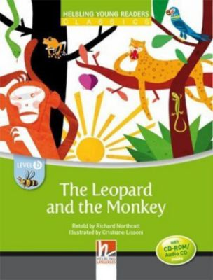 The Leopard and the Monkey, mit 1 CD-ROM/Audio-CD
