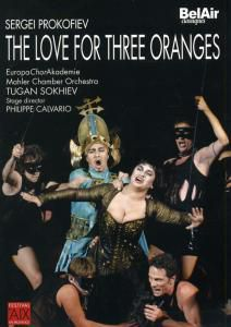 The Love For Three Oranges, Tugan Sokhiev, Calvario, Europa Chorakad., Mahler Ko