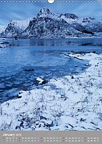The magic of Norway 2019 - Lofoten Islands & Nordland (Wall Calendar 2019 DIN A3 Portrait) - Produktdetailbild 1