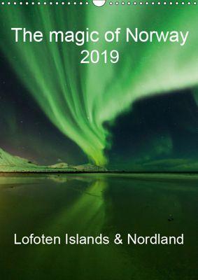The magic of Norway 2019 - Lofoten Islands & Nordland (Wall Calendar 2019 DIN A3 Portrait), Sandra Schaenzer