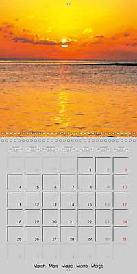 The Maldives - Vilamendhoo Island (Wall Calendar 2019 300 × 300 mm Square) - Produktdetailbild 3