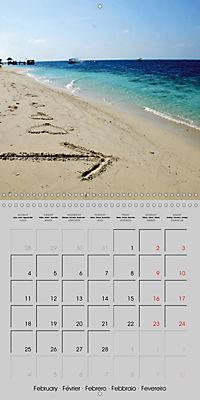 The Maldives - Vilamendhoo Island (Wall Calendar 2019 300 × 300 mm Square) - Produktdetailbild 2