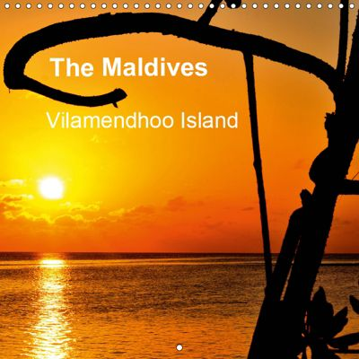 The Maldives - Vilamendhoo Island (Wall Calendar 2019 300 × 300 mm Square), Jenny Wilson