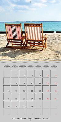 The Maldives - Vilamendhoo Island (Wall Calendar 2019 300 × 300 mm Square) - Produktdetailbild 1