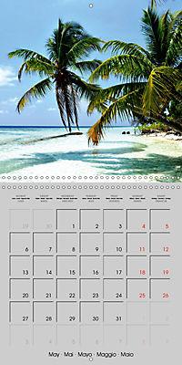 The Maldives - Vilamendhoo Island (Wall Calendar 2019 300 × 300 mm Square) - Produktdetailbild 5