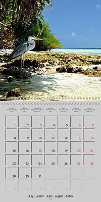 The Maldives - Vilamendhoo Island (Wall Calendar 2019 300 × 300 mm Square) - Produktdetailbild 7