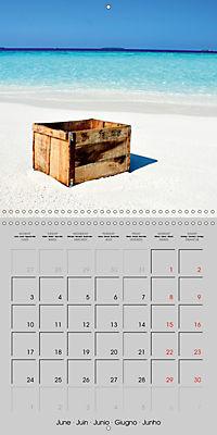 The Maldives - Vilamendhoo Island (Wall Calendar 2019 300 × 300 mm Square) - Produktdetailbild 6