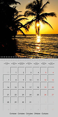 The Maldives - Vilamendhoo Island (Wall Calendar 2019 300 × 300 mm Square) - Produktdetailbild 10