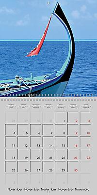 The Maldives - Vilamendhoo Island (Wall Calendar 2019 300 × 300 mm Square) - Produktdetailbild 11