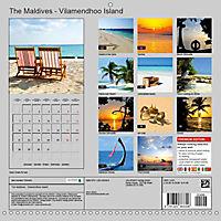 The Maldives - Vilamendhoo Island (Wall Calendar 2019 300 × 300 mm Square) - Produktdetailbild 13
