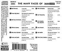 The Many Faces Of Naxos Jazz - Produktdetailbild 1