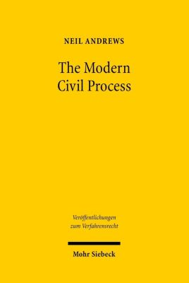 The Modern Civil Process, Neil Andrews