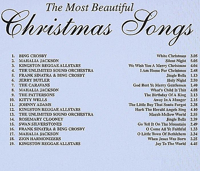 Englische Weihnachtslieder.The Most Beautiful Christmas Songs Cd Cd Bei Weltbild De