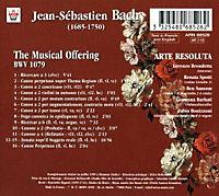 The Musical Offering Bwv 1079 - Produktdetailbild 1