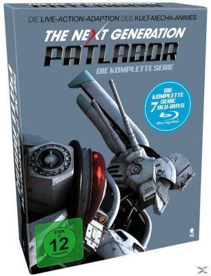 The Next Generation: Patlabor - Die komplette Serie Bluray Box, Kazunori Itô, Mamoru Oshii