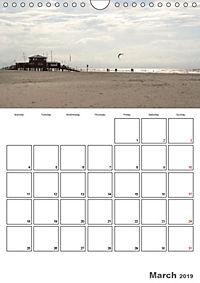 The North Sea / Travel Impressions (Wall Calendar 2019 DIN A4 Portrait) - Produktdetailbild 3