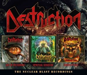 The Nuclear Blast Recordings (3cd Box), Destruction